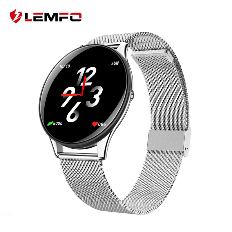LEMFO Newest Smart Watch For Men Women IP67 Waterproof Hate Rate Sleep Monitor Passometer Fashion Smartwatch Android IOS