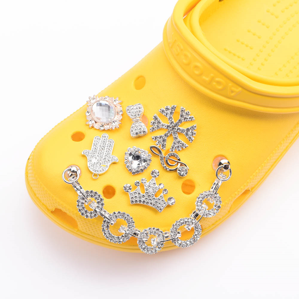 Metal Charms Designer JIBZ Croc Charms  Accessories Clog Shoe Button Decoration cute bee  Charm for Croc Shoes