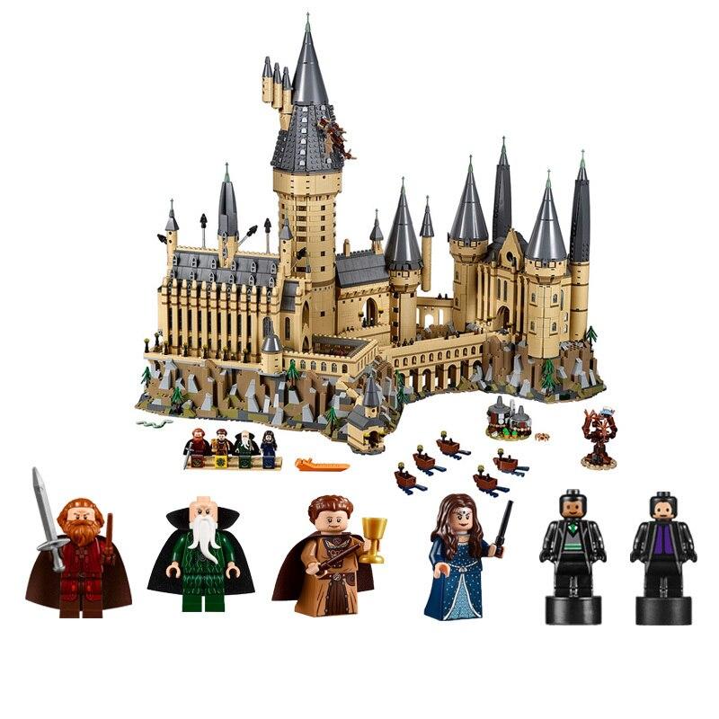 16060 Kits Modelo de Potter Movie Magic Castle 6742Pcs Bloco de Construção de Tijolos Brinquedos para Crianças Presente Compatível com 71043 números de casa - 3
