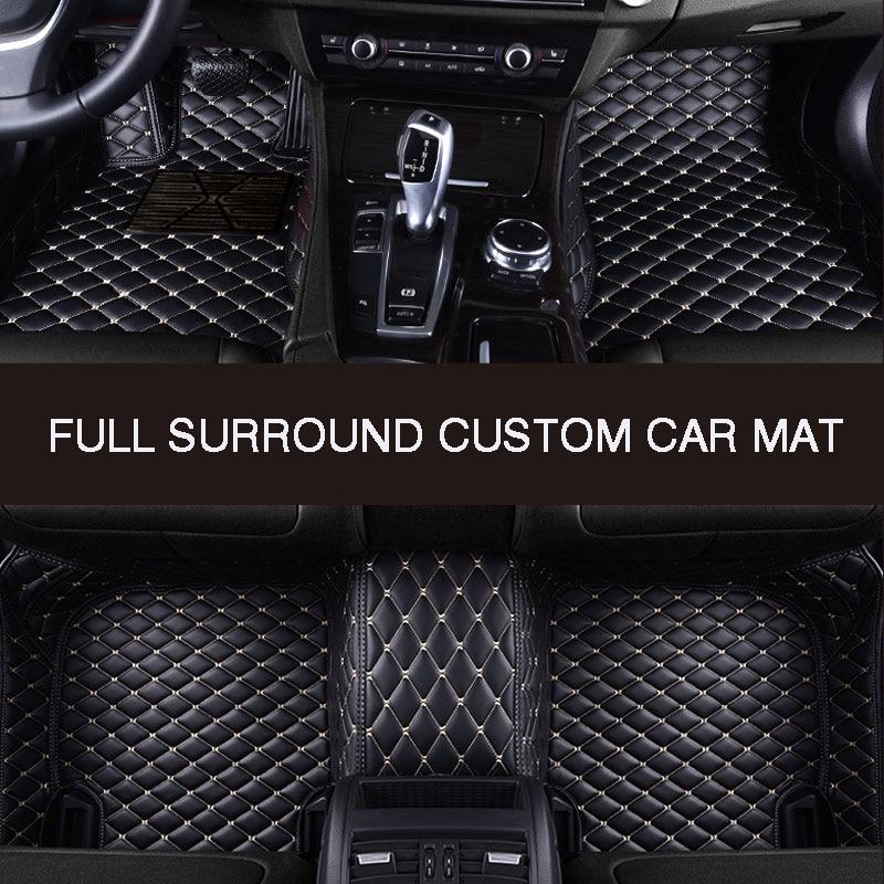 Car Mats For PEUGEOT 307 308 508 4008 5008 Car Floor Mats Carpets Waterproof
