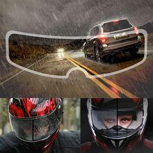 Universal Motorcycle Helmet Clear Rainproof Film Anti Rain Patch Screen for K3 K4 AX8 LS2 HJC MT Helmets girlfriends love