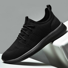 Men Running Shoes 2020 Comfortable Sport Shoes Men Trend Lightweight Walking Shoes Men Sneakers Breathable Zapatillas