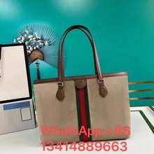 Lattice Large Tote bag 2021 Fashion New High quality PU Leather Women's Designer Handbag Hig13