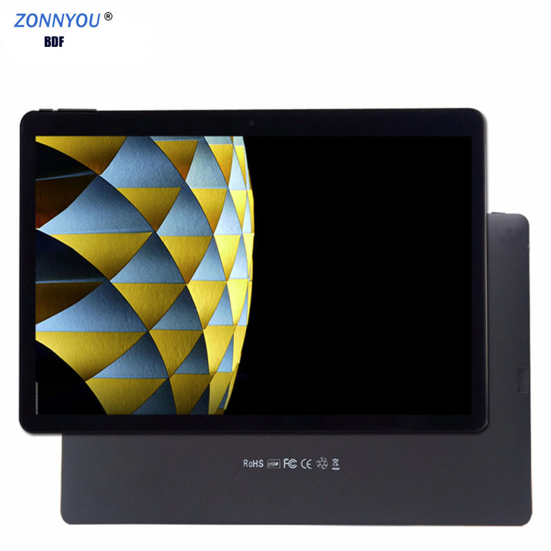 2019 nouveau 10.1 pouces tablette Pc Android 7.0 2GB RAM 32GB ROM Quad CoreTablets Support Google Play Bluetooth Wi-Fi tablette PC