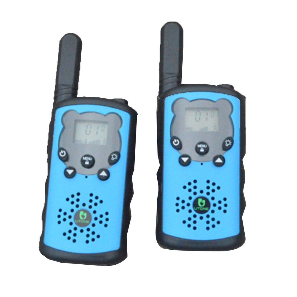 2PCS Two Way Walkie Talkies Radio Interphone Toys For Children Kids Outdoor Walking Camping Kids Pretend Play Interaction Gifts
