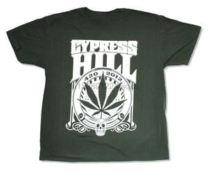 Cypress Hill 420 2012 Forest Dark Green T Shirt New Merch New Funny Tee Shirt(China)