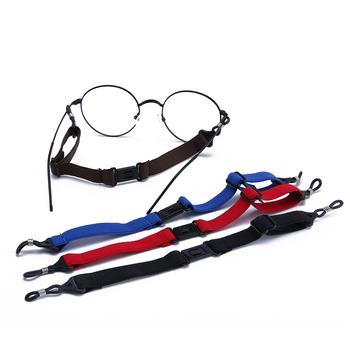 Okulary liny sportowe elastyczne okulary antypoślizgowy przewód mocujący sznurek linowy podkładki pod szklanki pasek okulary akcesoria akcesoria sportowe tanie i dobre opinie CN (pochodzenie) Unisex Poliester 26cm Glasses Cord Stałe chain for glasses lanyard glasses chains