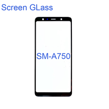 3pcs Front Outer Glass Lens For Samsung Galaxy A750 A730 A530 A30 A20 A10 A40 A50 A60 A70 A90 A7 A8 2018 plus Replacement Parts стоимость