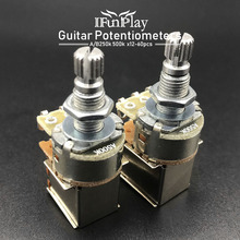 Potentiometers-Switch 250K Guitar Guitarra-Bass-Parts Electric 12pcs for 18mm Pull-Pots