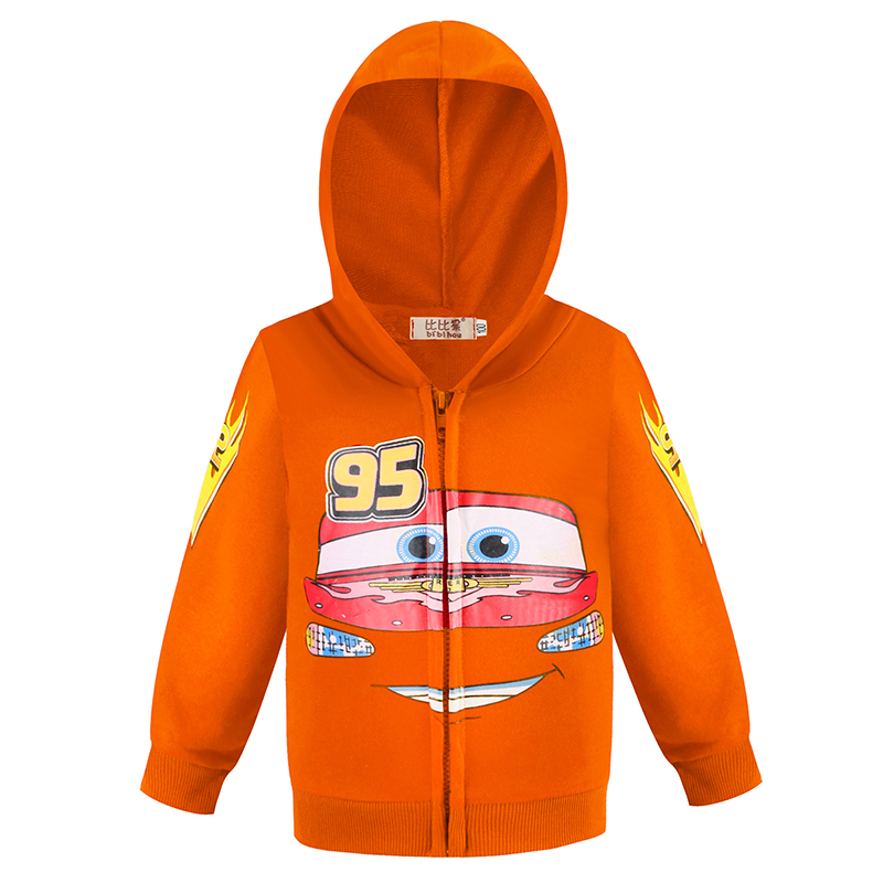 Baby Boys Cool Superheroes Hoodie Cartoon Sweatshirt Kids Cars Clothes Spring Autumn Thin Coat Children Hooded