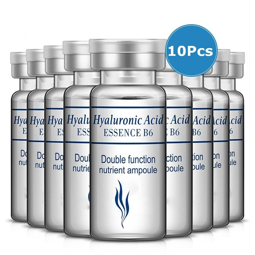 10Pcs Firming Skin Care Vitamins Hyaluronic Acid Liquid Hydration Anti Aging Collagen Repairing Serum Face Moisturizing Essence