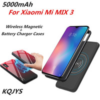5000mAh Wireless Magnetic Battery Case for Xiaomi Mi MIX 3 Portable Magnetic BackClip Power Supply Case for Xiaomi Mi MIX 3|Battery Charger Cases| |  -
