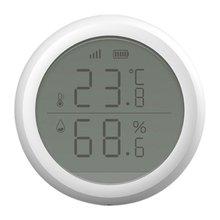 Датчик температуры умный wifi беспроводной датчик домашняя охранная