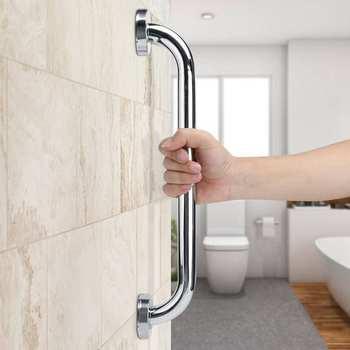 201 Edelstahl Non-Slip Handlauf Bad Badewanne Hand Bar für Ältere Schwangere Frauen Sicherheit Unterstützung Griff Handtuch Rack