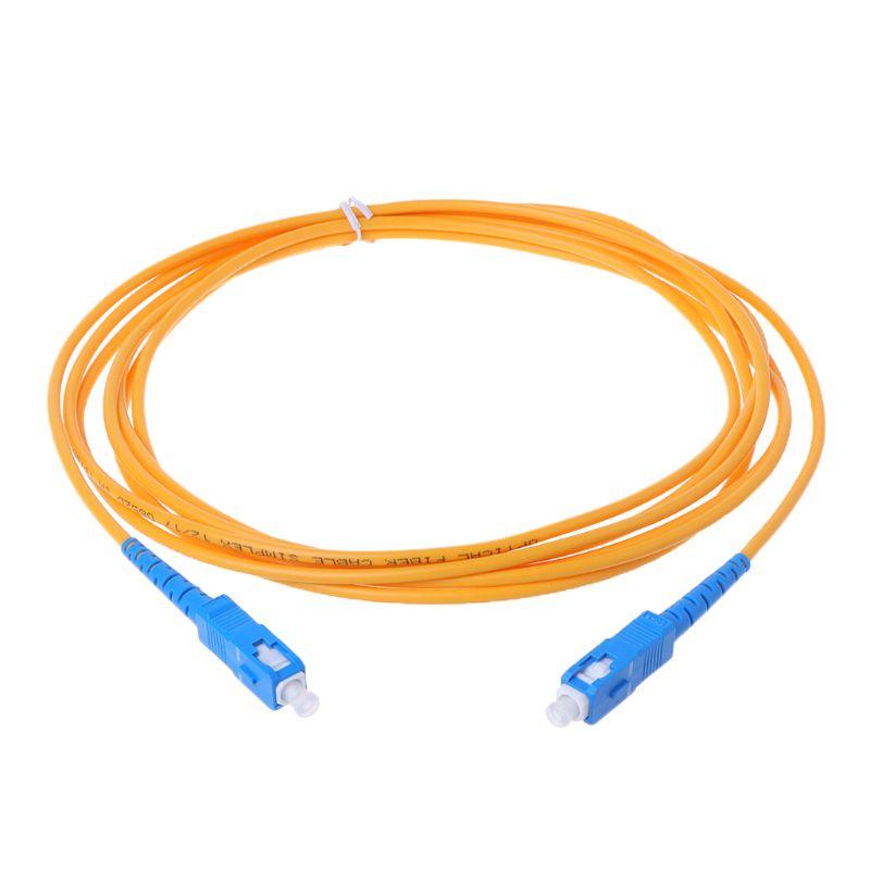 SC/UPC-SC/UPC-SM 3mm Fiber Optic Jumper Cable Single Mode Extension Patch Cord 3