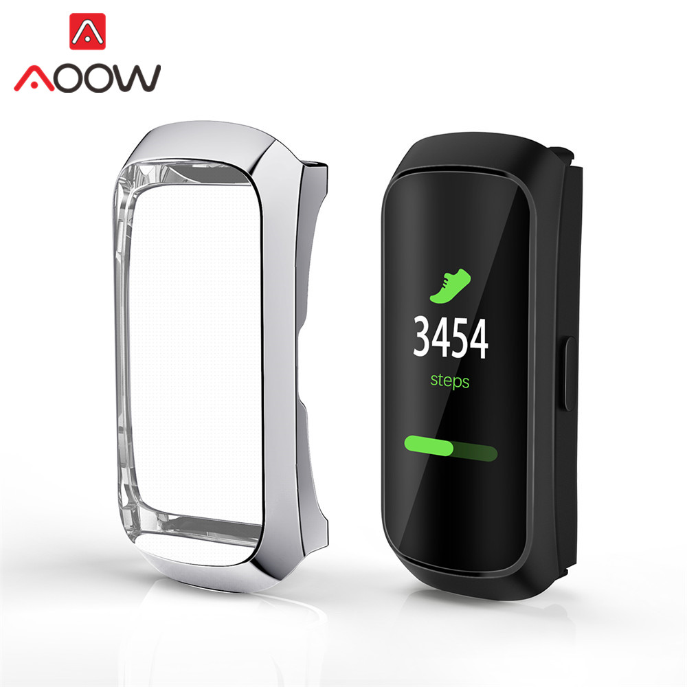 All-Around TPU Plating Protective Case For Samsung Galaxy Fit R370 Anti-fall Protector Cover Shell Band Strap Accessories