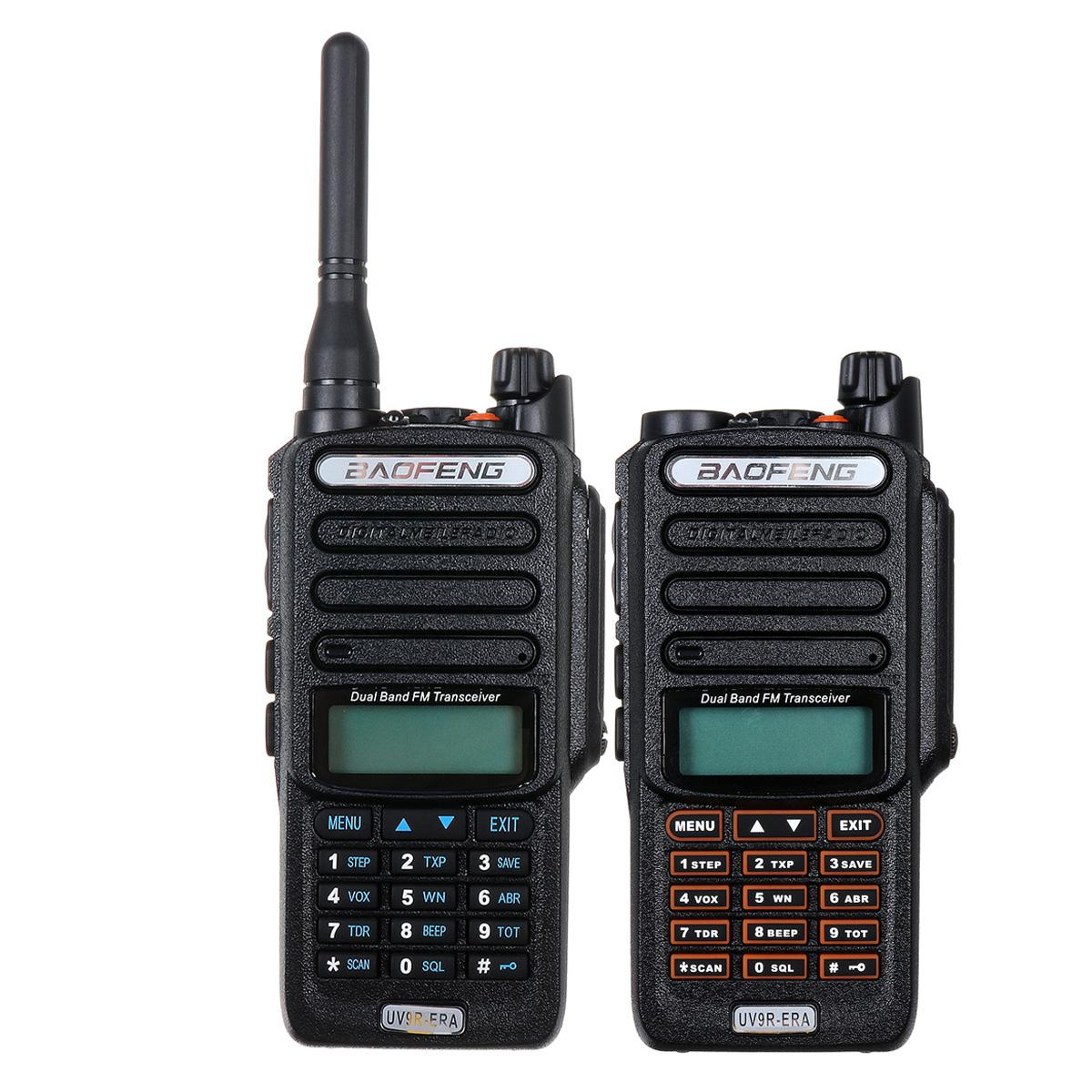 UV9R-ERA Walkie Talkie Professional UV Two Way Radio Comunicador HF Transceiver Radio Station 15km Talk Range IP57