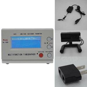 Image 2 - Mekanik saat ve cep Tester izle zamanlama makinesi İşlevli Timegrapher NO. 1000 tamircileri hobi İzle onarım araçları