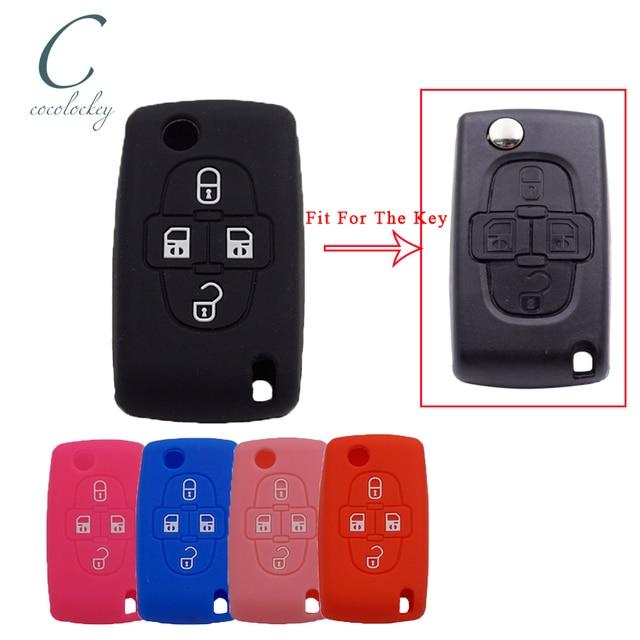 Chave Carro Novo Transponder Chip H84 E 4 Botões De Controle Remoto Entrada Sem Chave