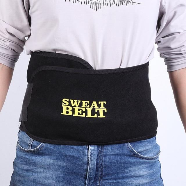 2/3mm Adjustable Black Sweat Belts Trainer Corset Slimming Shaper Tummy Control Girdles Workout Fitness Support Kidney Belt 2
