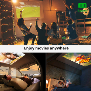 Image 5 - 2020 New BYINTEK P10 Smart Android Wifi Mini Pocket Portable Full HD LED Projector For Smartphone Home Theater 1080P MAX 4K