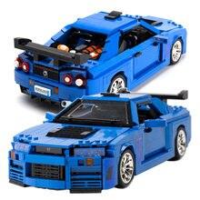 1286 pçs carro esporte blocos de construção criador cidade super carro especialista tijolos conjunto modelo veículo crianças crianças corrida diy brinquedo presente