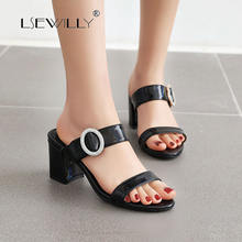 Lsewilly 2020 new fashion plus size 50 high heels summer shoes