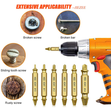 Drill-Bit-Set Extractor Stripped Remover Demolition-Tools Broken-Screw-Bolt Easily Damaged