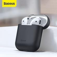 Baseus – étui AirPods 2019 en Silicone coloré, boîtier pour écouteurs sans fil Bluetooth