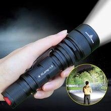 Lanterne Ultra puissante étanche à Charge directe lampe de poche LED pour T6 L8, lampe torche Rechargeable 18650