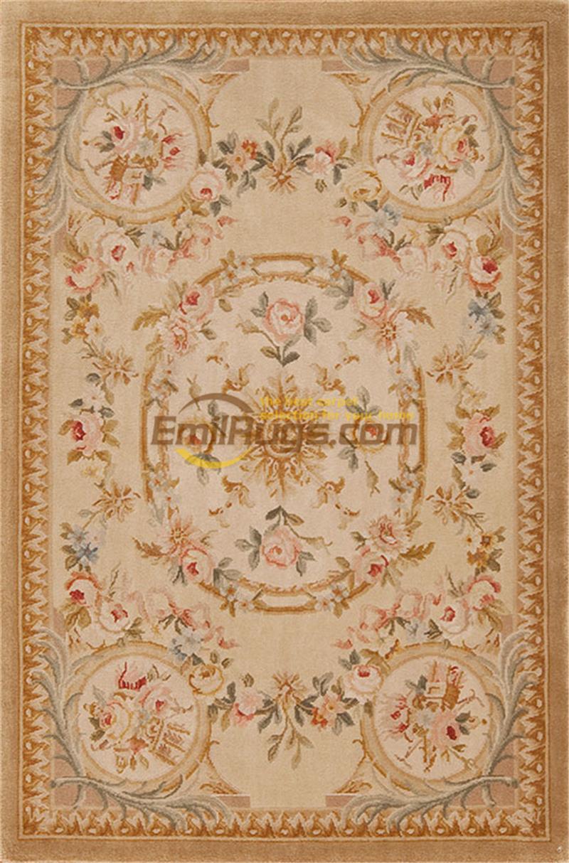 Grande Savonnerie Antique tapis laine tapis salon chambre ménage zone circulaire musée cadeau