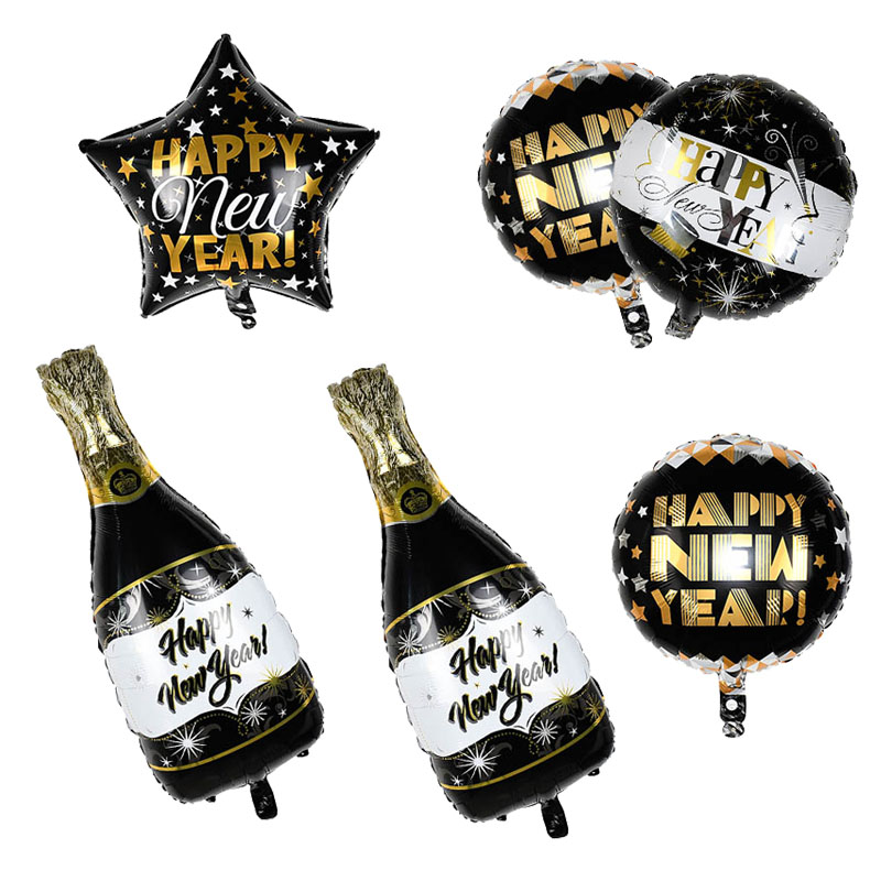 1pcs New Year Decoration Balloon Foil Helium Air Balls for Christmas Decor Ballons Home Party Globes inflable Xmas Ornament