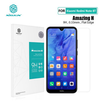Redmi Note 8T Glass Nillkin H 0.33MM Screen Protector Tempered Glass for Xiaomi Redmi Note 6 7 8 Pro 7S Global Version