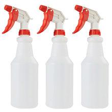 3 pçs pulverizador desinfecção spray líquido garrafa vazia pote de pulverizador portátil 750ml pulverizador