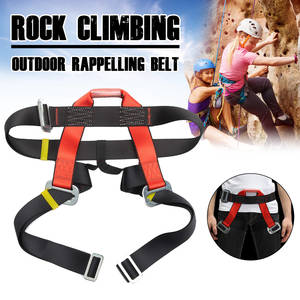 Safety-Belt Climbing-Equipment Harnesses-Rappel-Belt Protecting Outdoor for Rock Half-Body