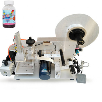 Semi-automatic Flat Labeling Machine Small Label High Precision Flat Labeling Tool High-capacity Stickers Paste Label Equipment 110v 220v fully automatic label peeling machine paper stickers label separator label tearing machine efficient tools equipment
