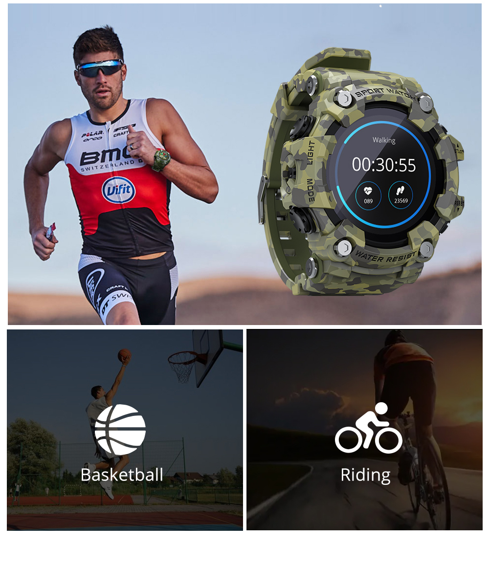 H8283b7a291534b52b0f160070fa6fb0dd LOKMAT ATTACK Full Touch Screen Fitness Tracker Smart Watch Men Heart Rate Monitor Blood Pressure Smartwatch For Android iOS
