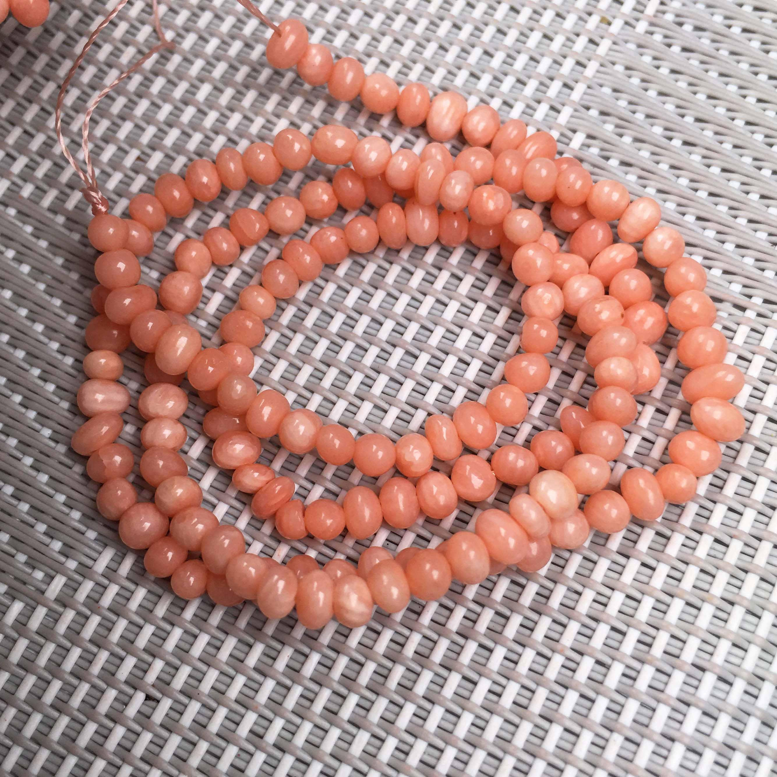 3-4 мм натуральный камень коралловые бусины оптом маленькие свободные изолированные бусины DIY ювелирные изделия для ожерелья Аксессуары для браслета