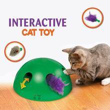 1Pc Cat Toy Funny Scratching Device Post Material For Sharpen Claw Pop Play