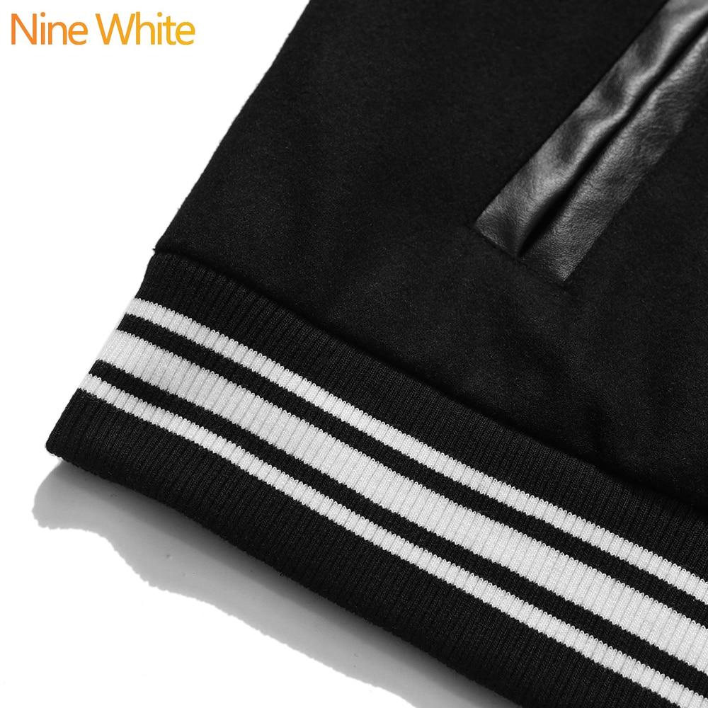 Hip-hop oversized hoodie sweatshirt men 2020 streetwear Harajuku hooded loose fashionable wool fleece sweater baseball uniform 5