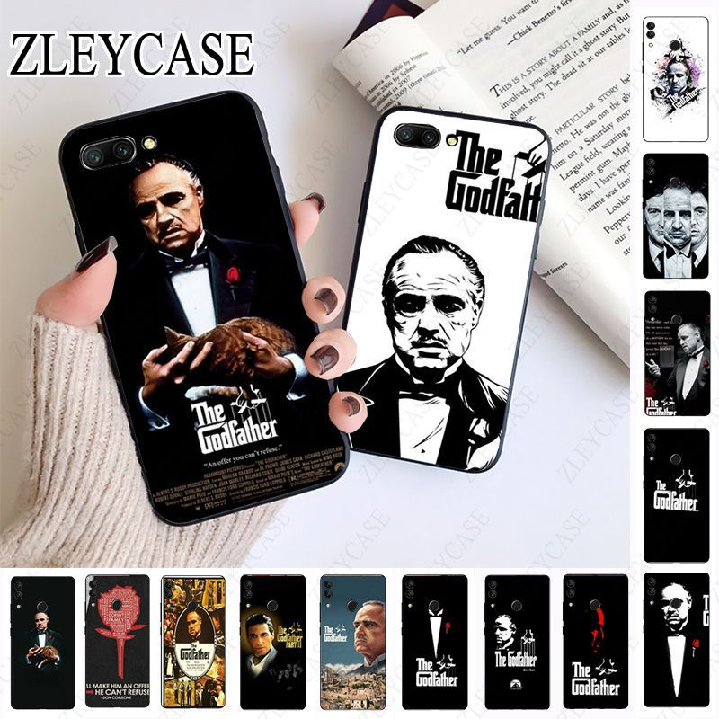 The Godfather Marlon Brando Soft Phone Case For huawei honor 10 10i 10lite 8c 8A 8X 9 9A 9lite 20 20s 20i 20lite mate20 Cover