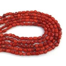 Wholesale Natural Stone Coral Beads Irregular Loose Isolation for Jewelry Making DIY Charms Bracelet Necklace