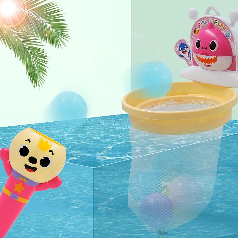 Baby Bath Toys Play In Summer In Bathroom Water,Shooting Toys Boys Girls Bath Toy,Evade Glue Animals Easy Install Funny Gift