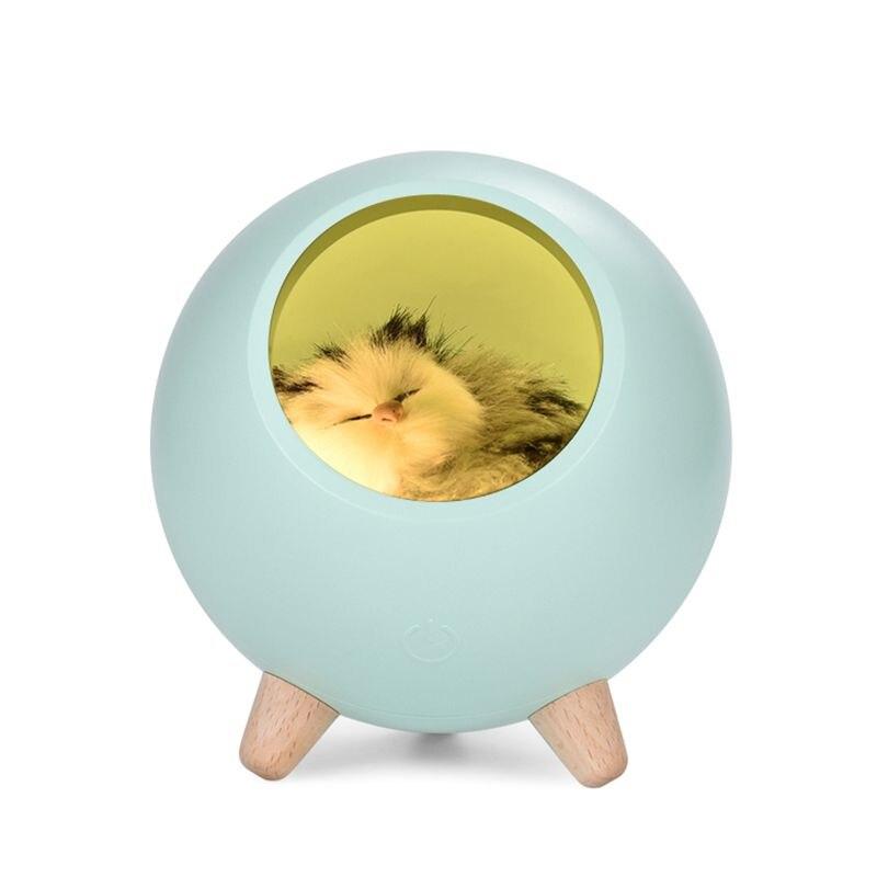 LED Bonito Gato de Casa Atmosfera de