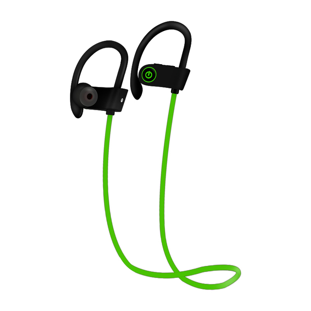 Bluetooth Headphones Wireless Sports Earphones with Mic IPX7 Waterproof HD Stereo Sweatproof In-Ear Earbuds