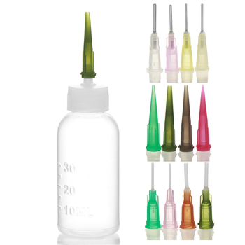 1 Set Henna Kit Applicator Bottle Paste Nozzle Tattoo Caps Body Art Tattoo Bottle Drawing Making Tool Set Tattoo Accessories 1