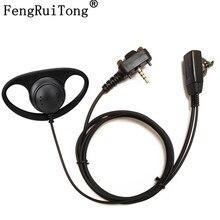 PTT Earhook Earpiece Headset Mic for Vertex Standard VX231 VX261 VX351 VX-417 VX-451 EVX-531 EVX-534 Radio walkie talkie
