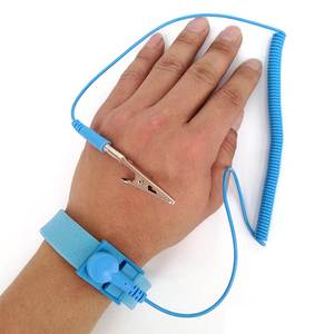 Strap Bracelet Wrist-Band Electrostatic Adjustable Grounding-Wire Hand Esd-Discharge-Cable