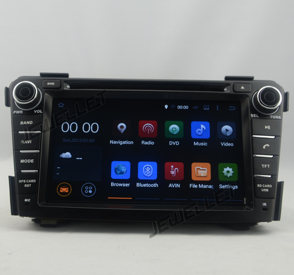 Octa core IPS screen Android 9.0 Car DVD <font><b>GPS</b></font> radio Navigation for <font><b>Hyundai</b></font> <font><b>i40</b></font> 2012-2016 with 4G/wifi DVR OBD mirror link image