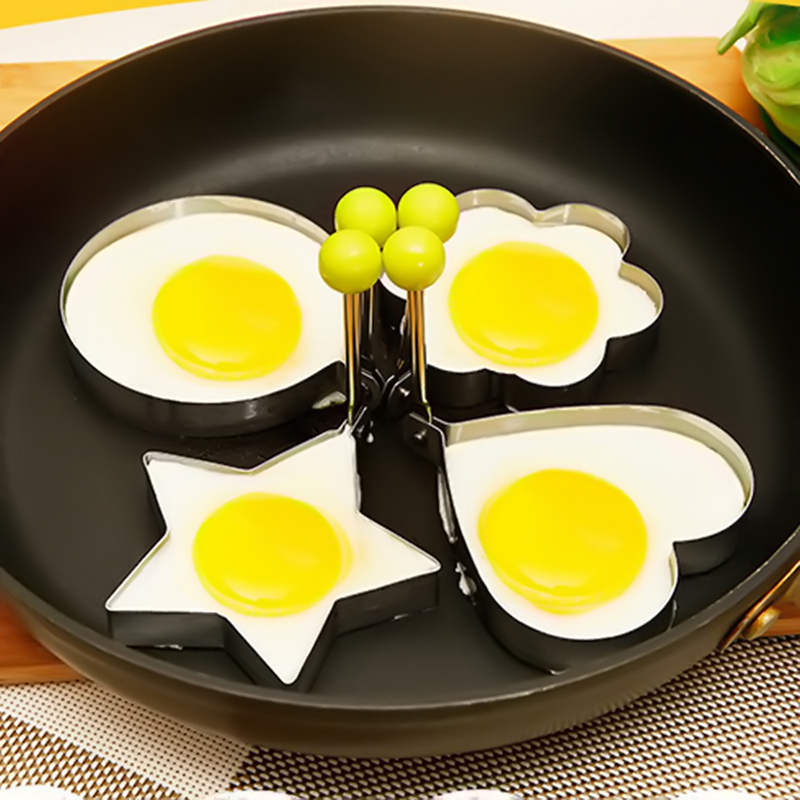 Stainless Steel Fried Egg Pancake Shaper Omelette Mold Mould Frying Egg Cooking Tools Kitchen Accessories Gadget Rings Hot Sale